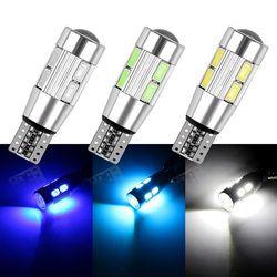 2 шт. авто LED T10 194 W5W Canbus 10 SMD 5630 Светодиодная лампа, светодиодные Парковка t10 сторона Свет автомобиля