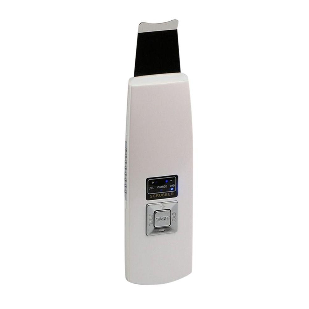 Rechargeable À Ultrasons Nettoyage En Profondeur Ion Peau Laveur de La Peau Du Visage Nettoyant Visage Peau Peeling Facial Massager Cleaner Laveur