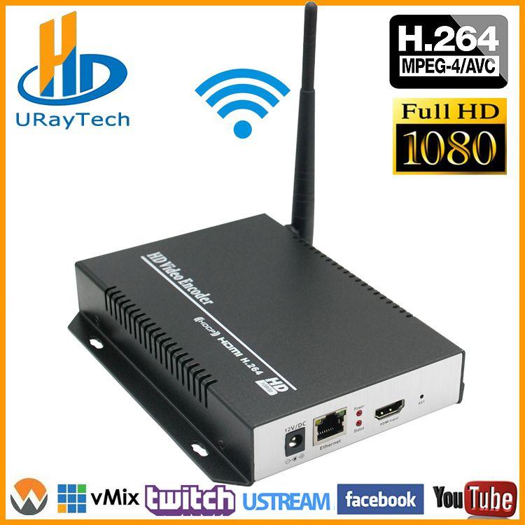 1080 p 1080I H 264 HDMI Zu LAN Video Encoder WiFi Live-Stream Encoder Konverter HD Wireless Video Audio Transmitter