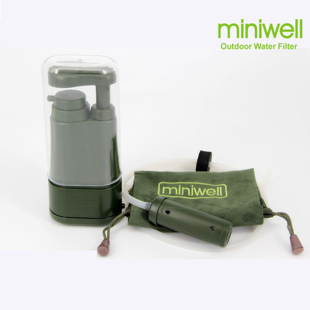 Filtre à eau Portable pour camping randonnée pêche, préparation aux urgences/catastrophes, filtre à eau de survie/système de filtration