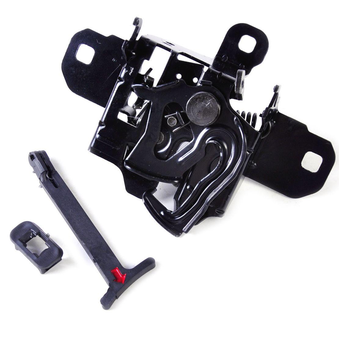 beler Hood Lock Latch Release Pull Rod Handle Fit for Volkswagen VW Golf Jetta MK4 2000 2001 2002 2003 2004 2005 1J0823509E