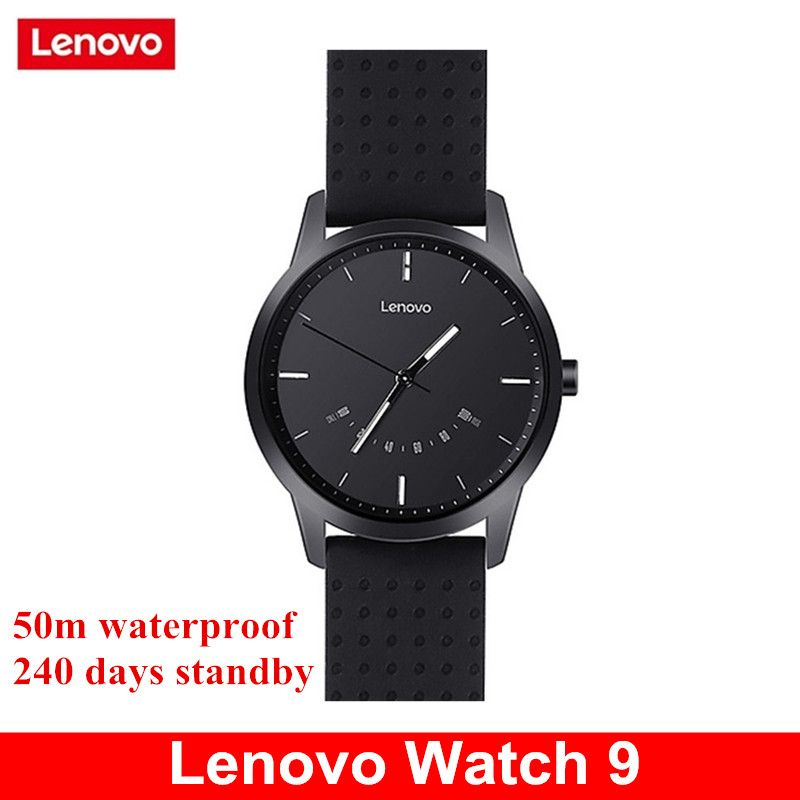 Lenovo Watch 9 Bluetooth Smartwatch Fitness Tracker 50m Waterproof Stopwatch Smart Watch For IOS Android 240days Standby