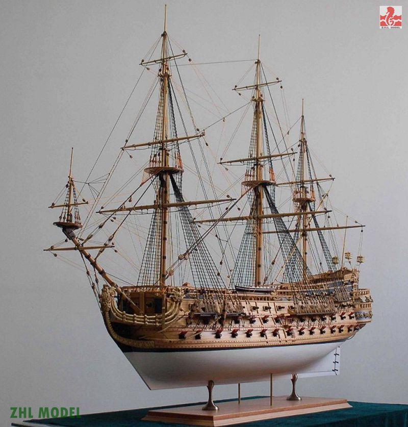 ZHL model San Felipe 1690 model ship wood