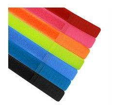 50PCS--20*180mm mixed color nylon ties strap for cable wire cord organization