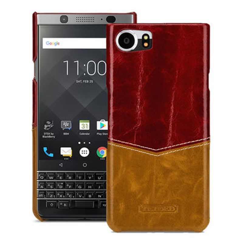 Für Blackberry KEYone Fall ultradünne Zurück Telefon Shell Luxus Echte Kuh Leder Tasche für Black Berry PRESSE DTEK70 4,5 fällen