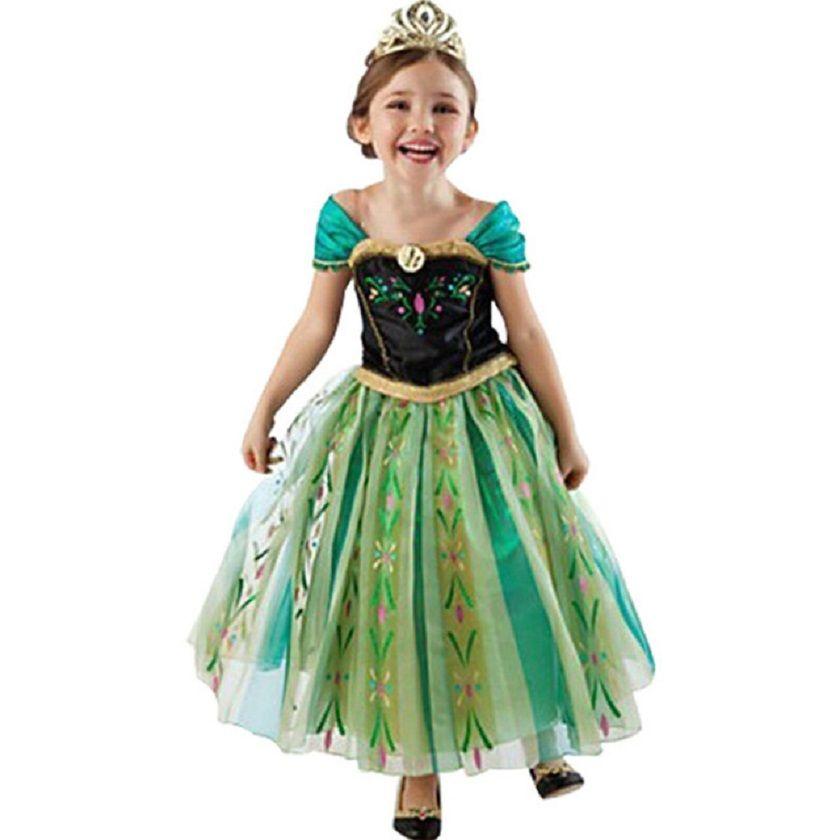 Robe d'été filles noël Elsa Anna Cosplay robe princesse robe de soirée enfants Costumes bébé enfants filles vêtements adolescente