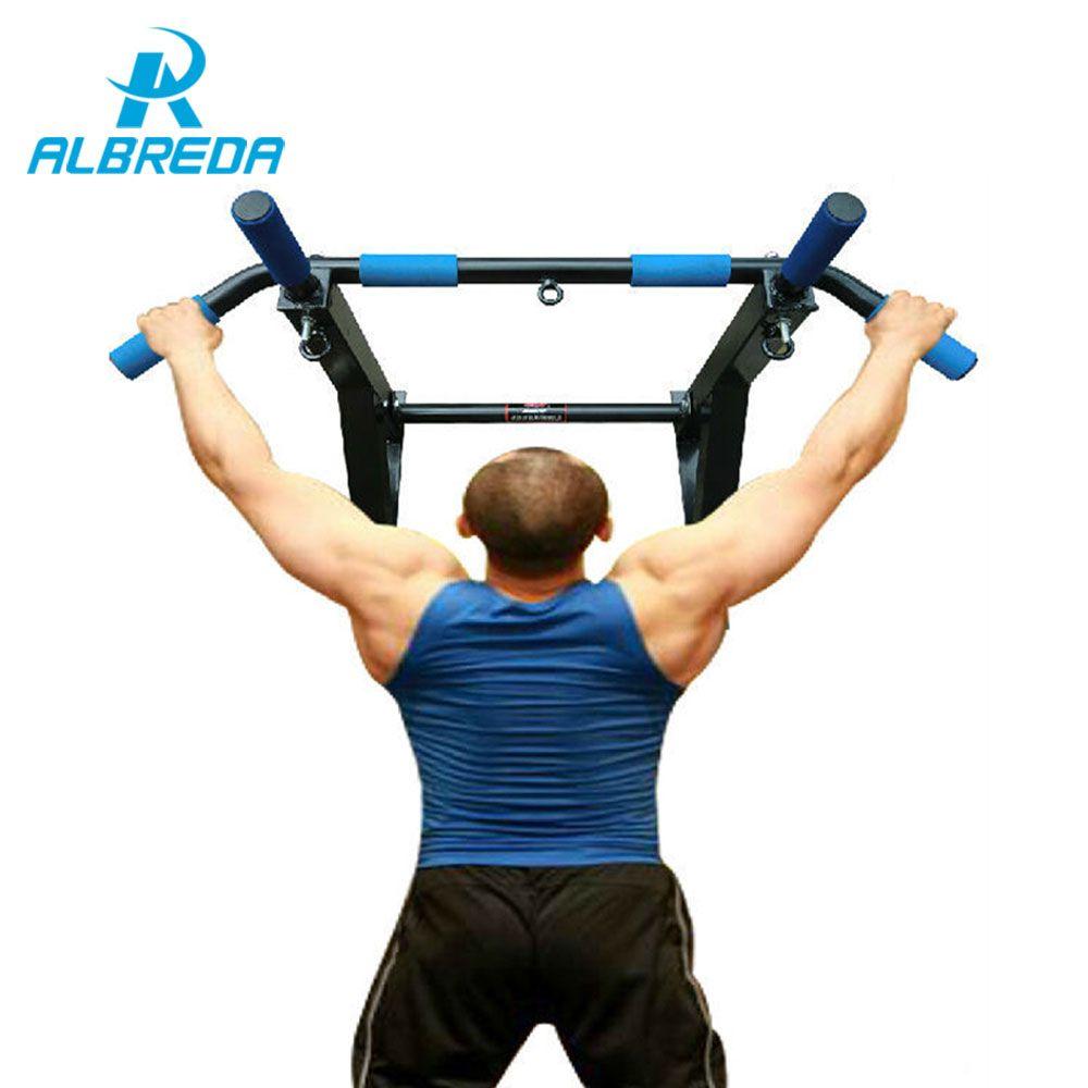 ALBREDA NOUVEAU Corps D'entraînement Troisième-génération mur barre horizontale porte intérieure équipement de fitness barre horizontale chin up bars sit-up