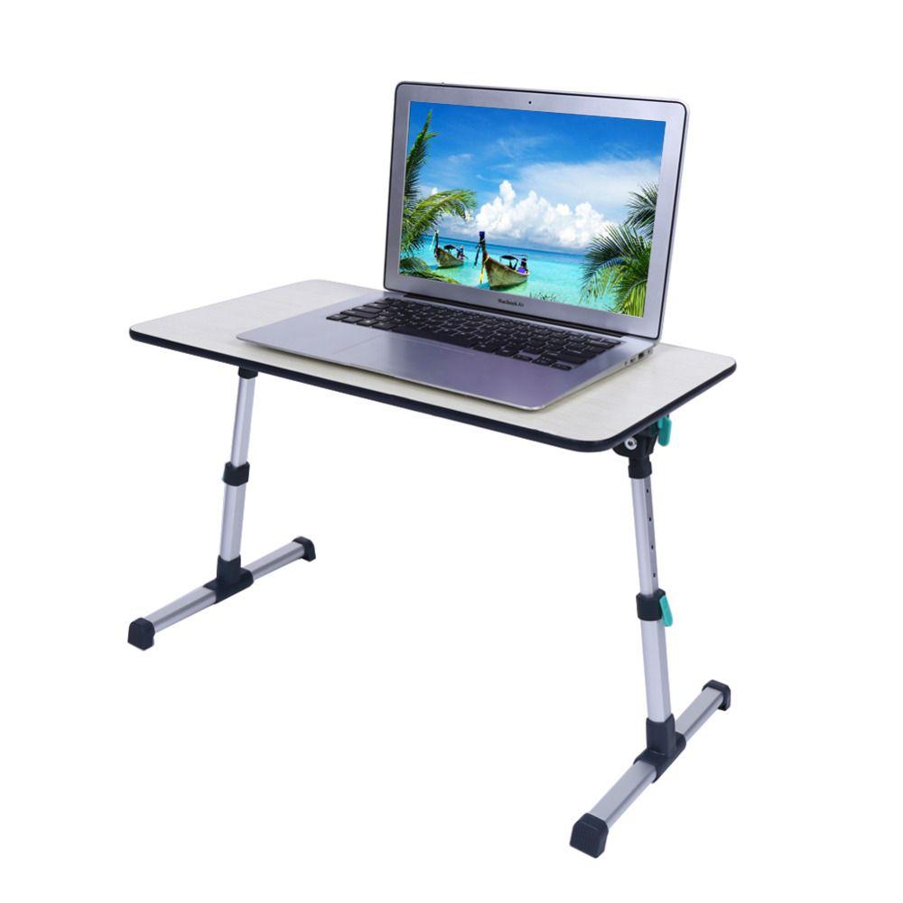 Portable Folding Table Aluminium Laptop Notebook Table Computer Desk Adjustable Laptop Stand Desk Commercial Furniture