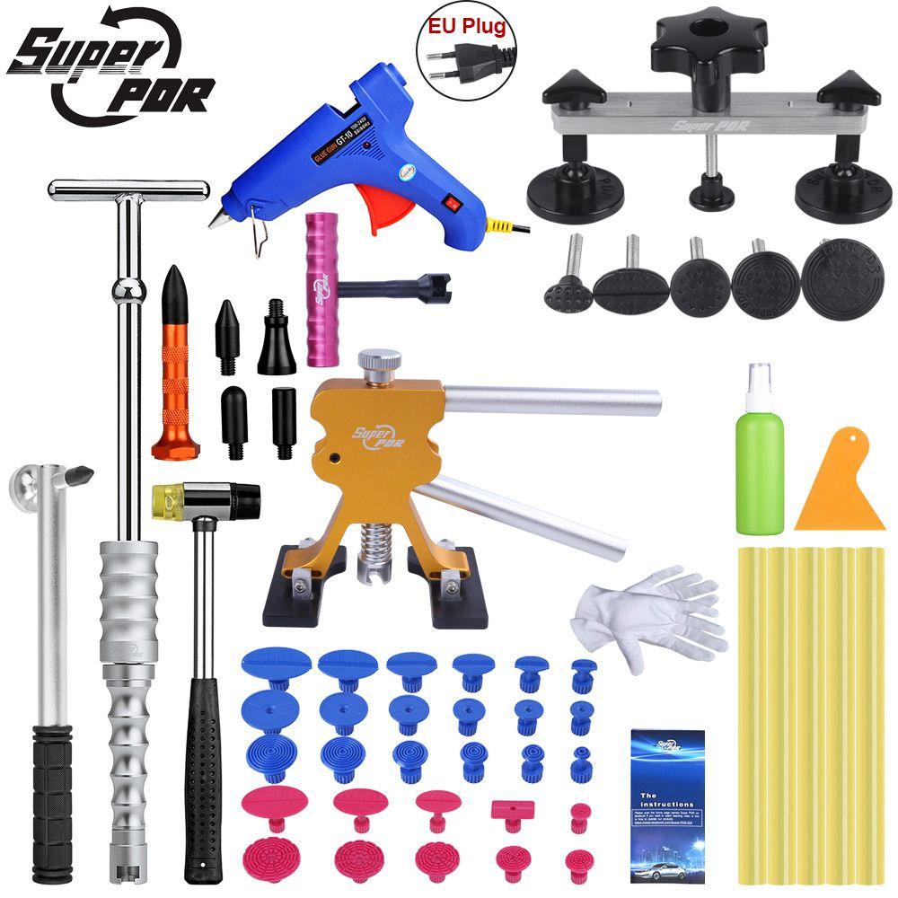 Super PDR Tools Paintless Dent Repair Tool Auto Dent Puller Suction Cup Hot Adhesive Glue Sticks For Hot Glue Gun Pulling Bridge