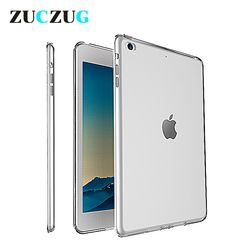 Clear Transparent Silicon TPU Case For iPad Mini 2 3 4 Cover Case For iPad Air 2 Case Slim Tablet Cover For Apple iPad pro 10.5