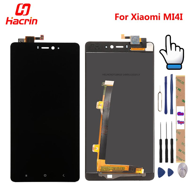 For Xiaomi mi4i LCD Display + Touch Screen + Tools 100% New Digitizer Assembly Replacement For Mi 4i Cell Phone