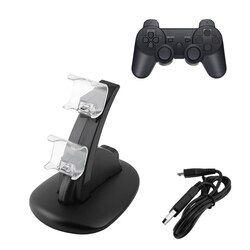 Dual LED USB Charger Charging Dock Stand Station for Sony PS4 Playstation 4 games Controller console Gaming joystick accessories
