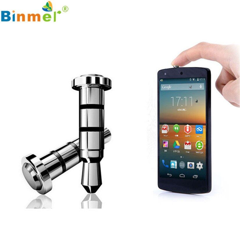 Factory Price Binmer New 2PC Click Quick iKey Press Button Dust Plug for Android OS APP Shortcut Smart shortcuts Drop Shipping