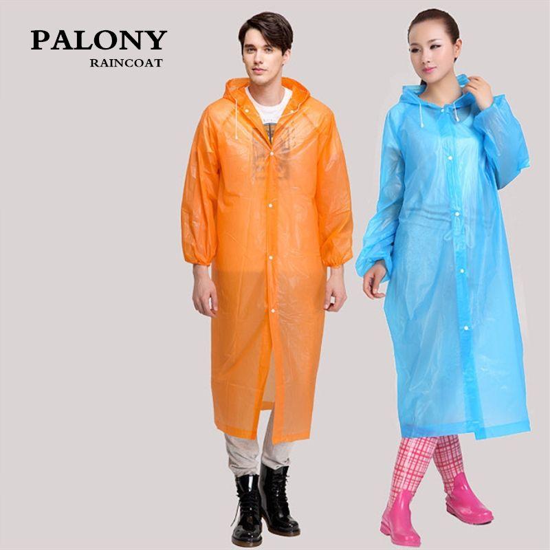 Universal Transparent Men Raincoat Rain Cover Poncho Travel Women Rainwear Waterproof Camping Hooded capa de chuva Impermeable