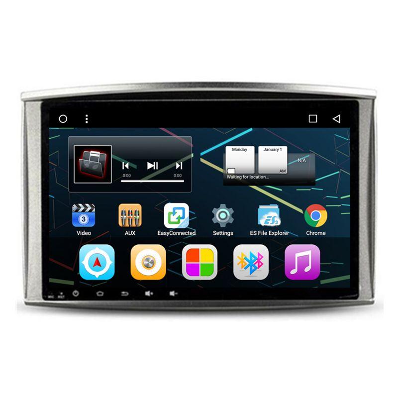 10,2 Android Auto Stereo Audio Kopf Einheit Steuergerät Autoradio für Lexus LX470 LX 470 Toyota Land Cruiser 100 LC 100