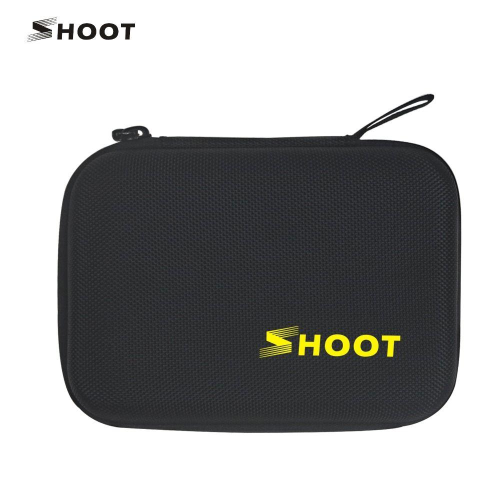 SCHIEßEN Tragbaren Kleinen Größe Sammlung Box Fall für GoPro Hero 5 4 Session 3 SJCAM Xiaoyi 4 Karat Kamera Go pro zubehör