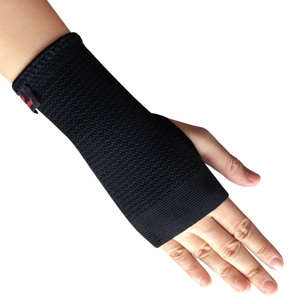 Kuangmi 1 PC élastique sport bracelet poignet orthèse soutien Compression manches paume protecteur CrossFit Fitness gants canal carpien