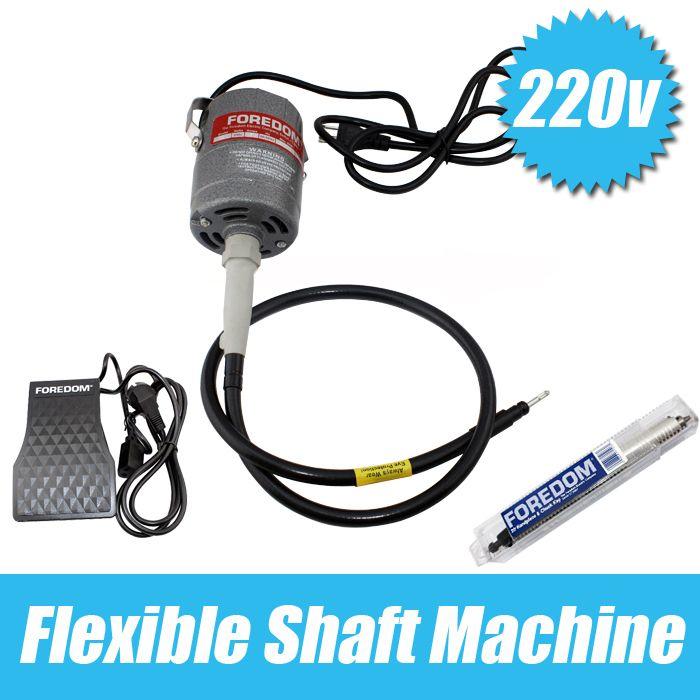 Free Shipping goldsmith tools goldsmith polishing Motor 220V 24000 rpm Foredom Flex Shaft Motor jewelry tools & equipment