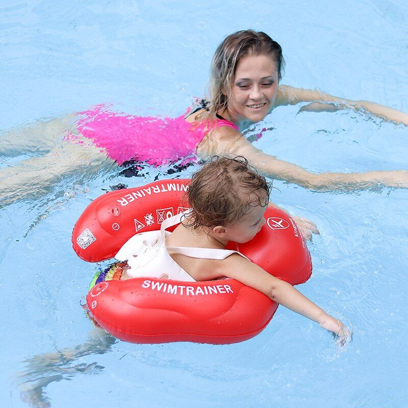 Free Swimming Baby Ring Inflatable Infant Armpit Floating <font><b>Kids</b></font> Swim Pool Accessories Circle Bathing Inflatable Double Raft Rings