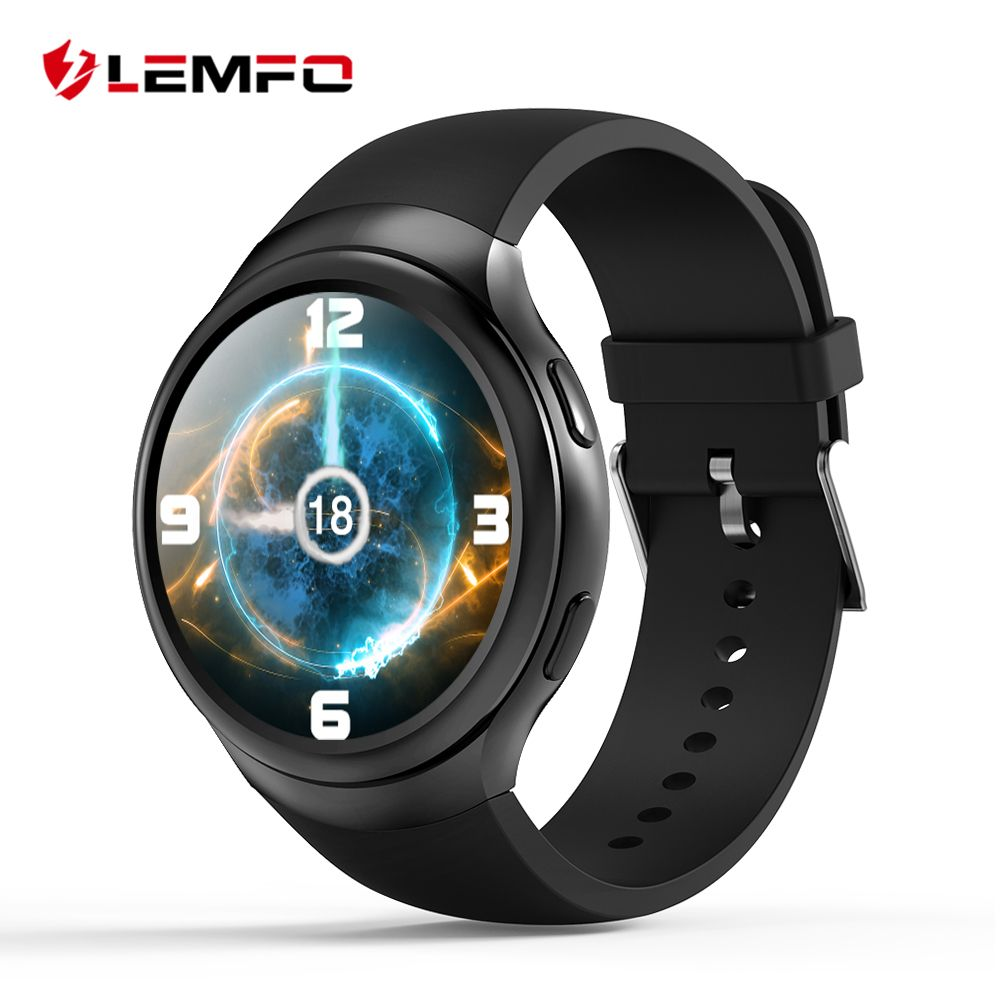 LEMFO LES2 Smart Watch Smartwatch Fashion Smart Watch Android Smartwatch GPS SIM Heart Rate Monitor for Men Women