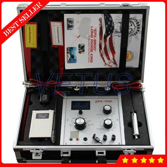 EPX9900 Under ground gold scanner machine with Treasure hunting metal detector Gold Silver Copper Metal Detector