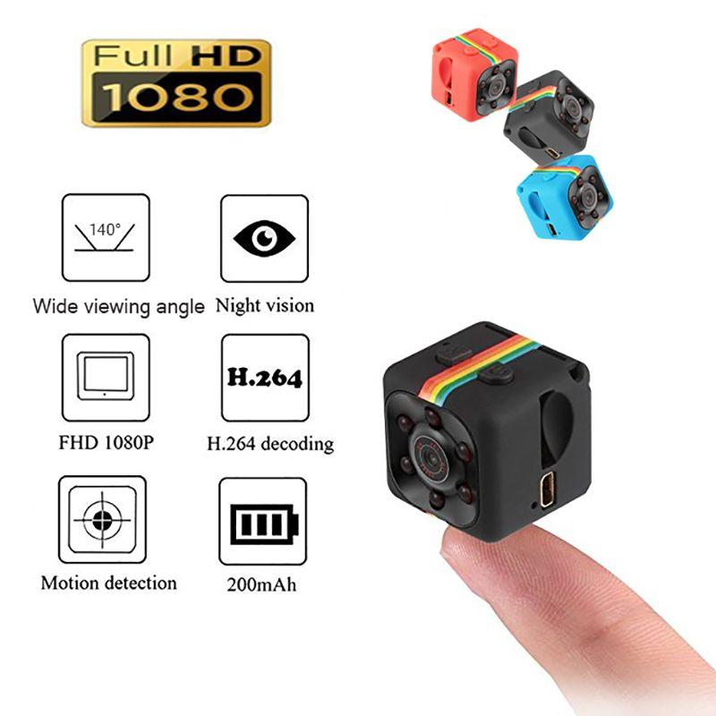 SQ11 Mini Caméra 1080 p Sport DV Mini Infrarouge de Vision Nocturne Moniteur Caché petite Caméra DV Vidéo Enregistreur Soutien TF carte