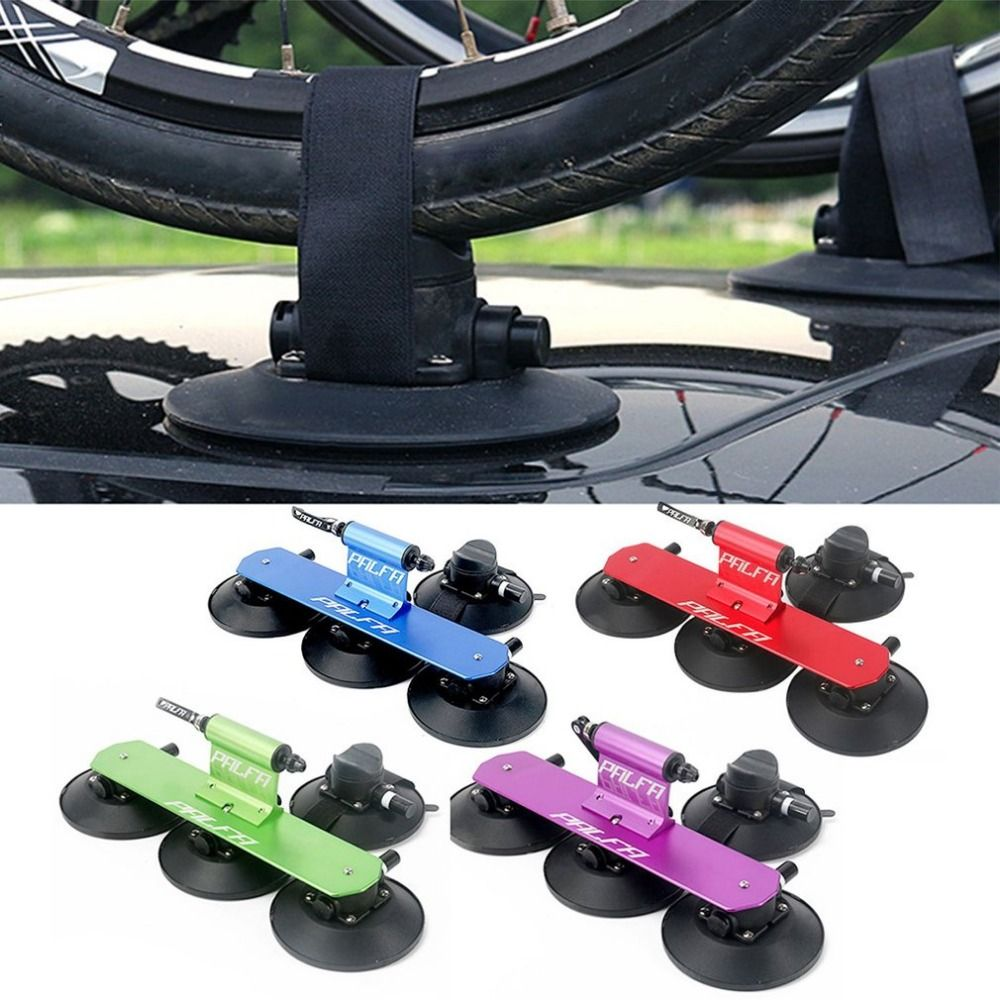 Powerful Strong Sucker Roof-Top Suction Bike Car Rack Carrier Simple Installation Sucker Roof Rack for Mountain Bike