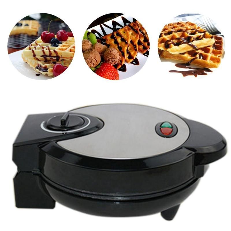 Electrical mini Egg Cake Waffle Maker Grill 1200W Small Egg Waffle Machine Crept Breakfast Crepe Baking Machine EU Plug