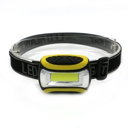 Mini 3 Modes Étanche COB LED lampe de Poche extérieur Phare de Phare head light lampe Torche Lanterna avec Bandeau, Utilisation AAA