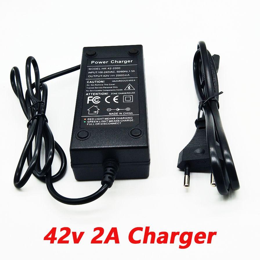 HK liitokala 36 V 2a chargeur 10 série de batterie au lithium chargeur 42 V véhicule électrique au lithium chargeur de batterie