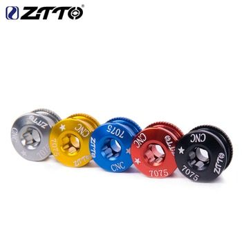 ZTTO 5PCS Chainring Bolt Bicycle Chainwheel Screws CNC 7075 Road MTB Bicycle Disc Screw for Crankset Bicycle Parts