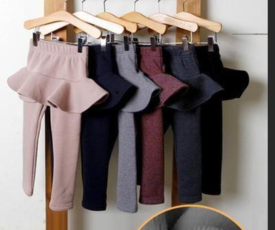 Baby Girl Pants Kids Leggings 2018 Autumn spring Girls Cotton Leggings Girls Skirt-pants Cake Skirts Children Clothes