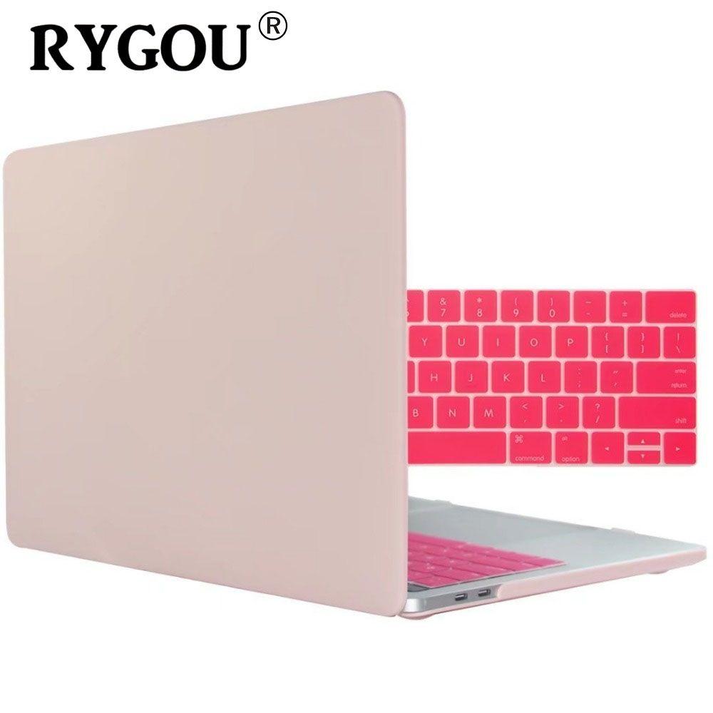 Pochette d'ordinateur housses pour Apple MacBook Air Pro Retina 11 12 13 15 étui pour nouveau Mac book Air 13.3 Pro 13.3 15.4 pouces + housse de clavier