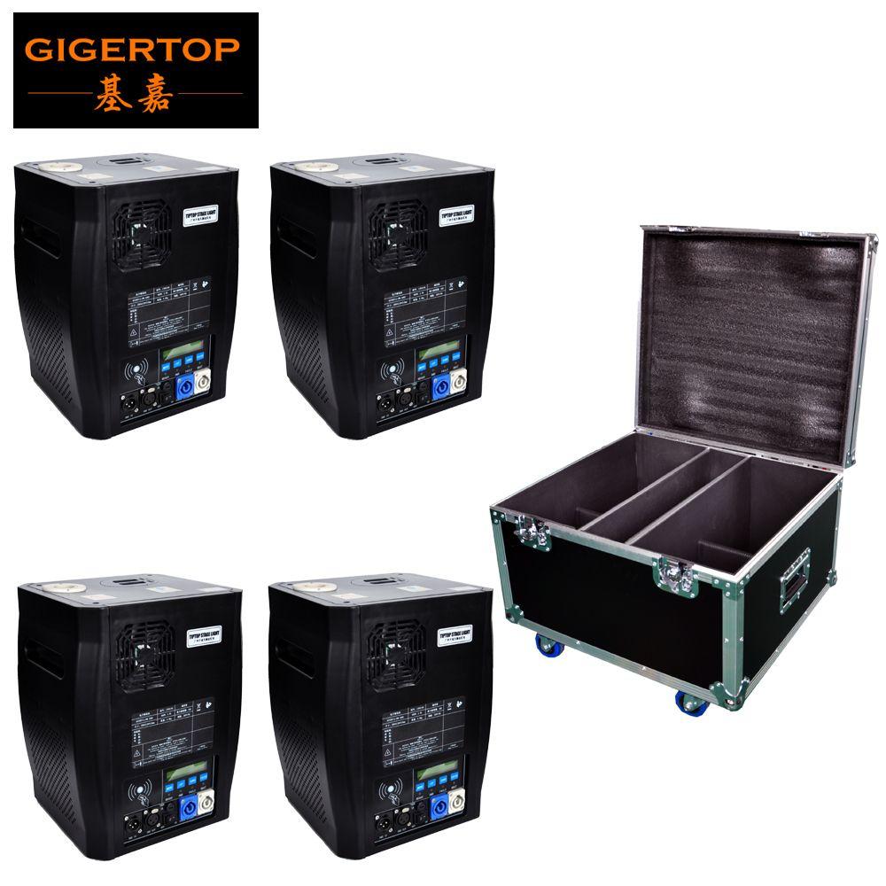 Gigertop TP-T600W Elektronische Bühne Kalten Sparkular Maschine DMX Wireless Remote Optional Halten 200g Titan Pulver