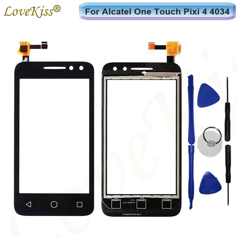 Touchscreen Front Panel For Alcatel One Touch Pixi 4 4