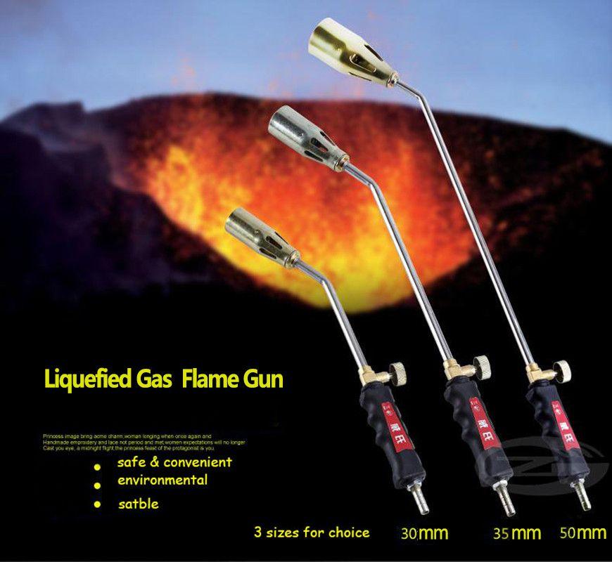30 мм сжиженный газ сварки факел пропан факел сорняк горелки
