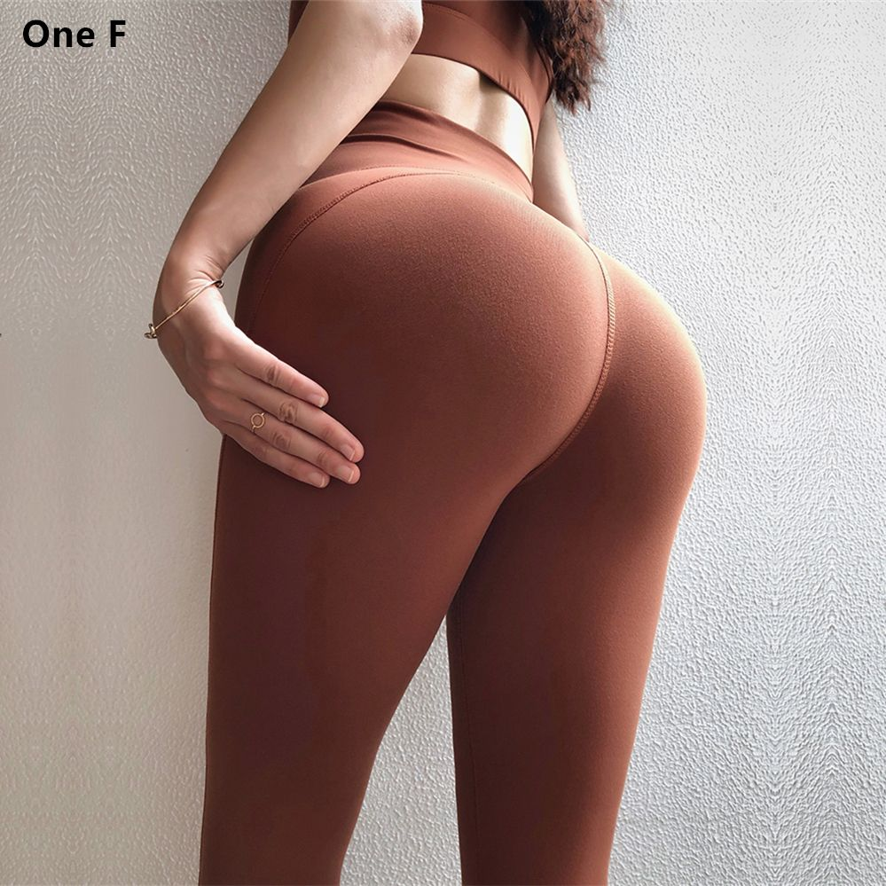 One F Sports Leggings For Women Fitness High Waist Tummy Control Squant Gym Leggings Lace Up Booty Lift Yoga Pants 2018