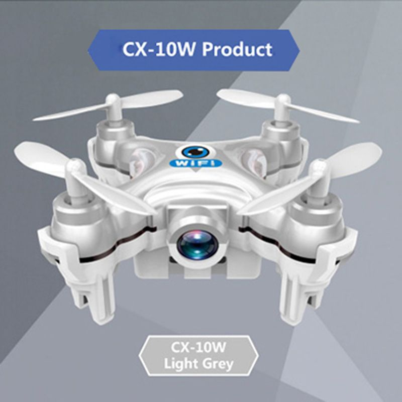 Cheerson CX-10W CX-10WD WiFi Drone With Camera Mini 6-Axis Gyro RC Quadcopter Headless Mode FPV Flying Camera wifi Toy Copter