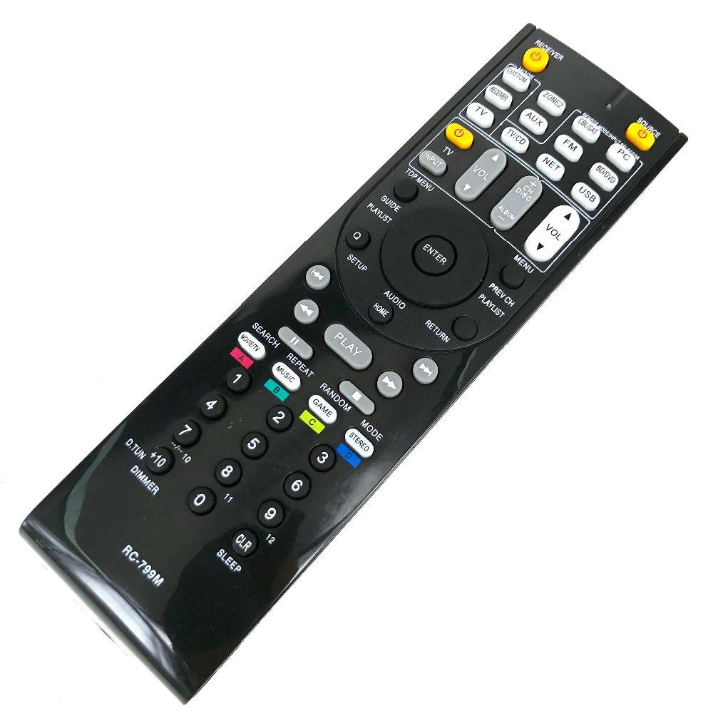NOUVELLE télécommande Pour ONKYO AV RC-799M RC-737M RC-834M/RC-735M RC-765M TX-NR414 TX-NR515 TX-NR717 TX-SR507S TX-SR507