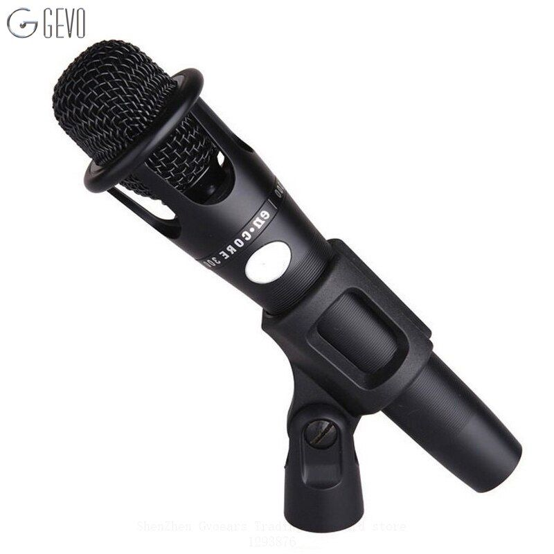 E300 Condenser Handheld Microphone XLR Professional Large Diaphragm MIC With Stand For Computer Studio Vocal Recording Karaoke