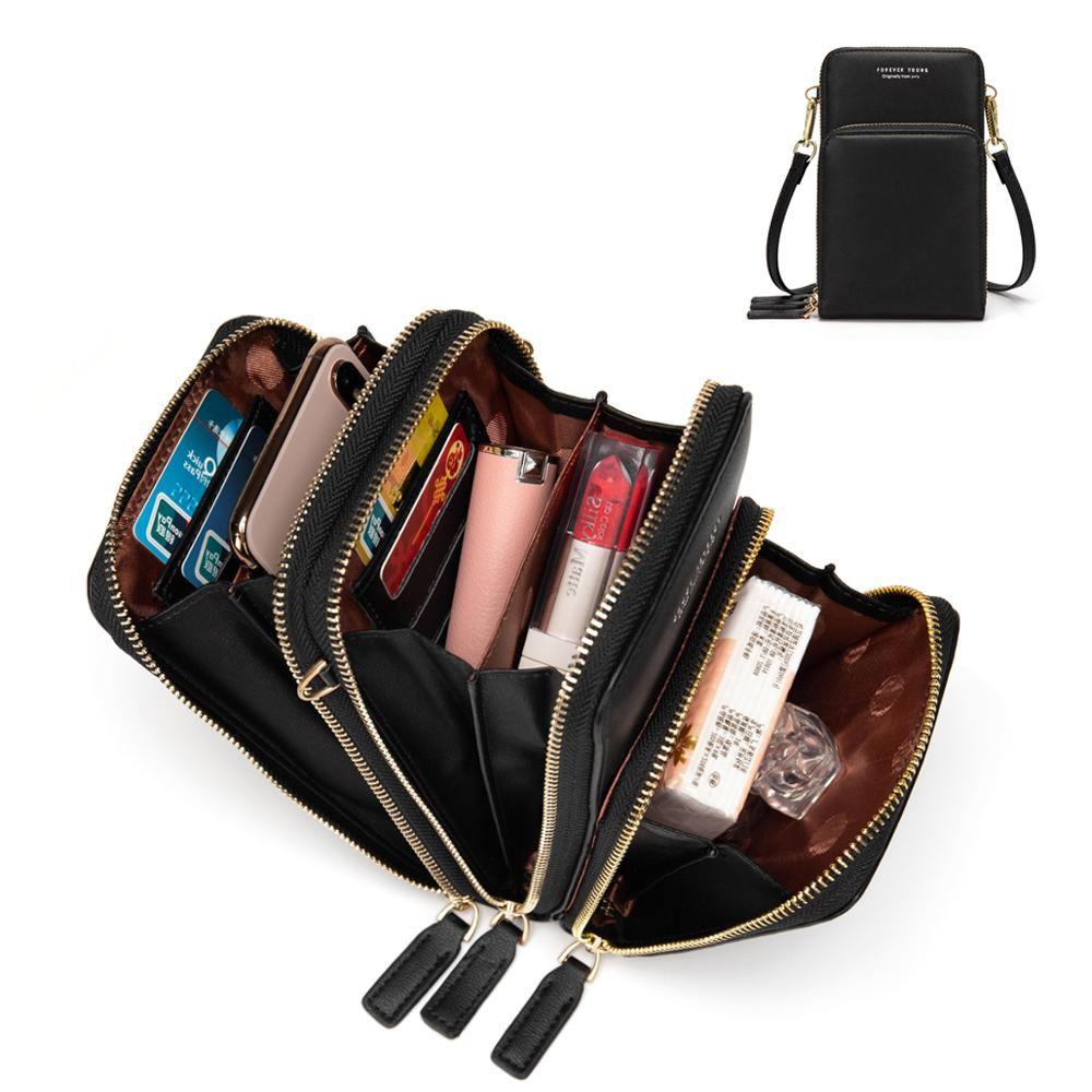 Nouveauté coloré sac de téléphone portable mode usage quotidien porte-carte petit sac à bandoulière d'été pour les femmes