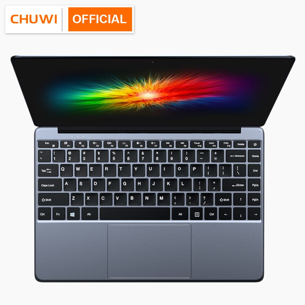CHUWI Lapbook SE 13.3 Pouces Window10 Intel Gemini-Lac N4100 Ordinateur Portable avec clavier rétroéclairé RAM 4 GB ROM 64 GB ultra Portable