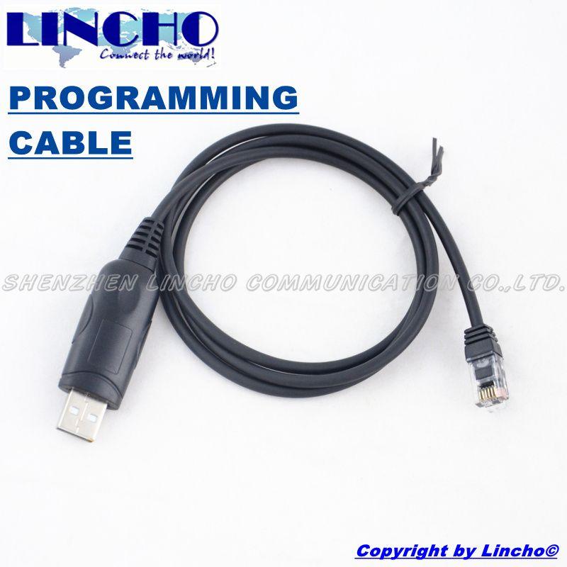 USB programming cable RJ-12 6-PIN jack for car radio TK-768 TK-768G TK-868 TK-850 TK-8160 TM-271A