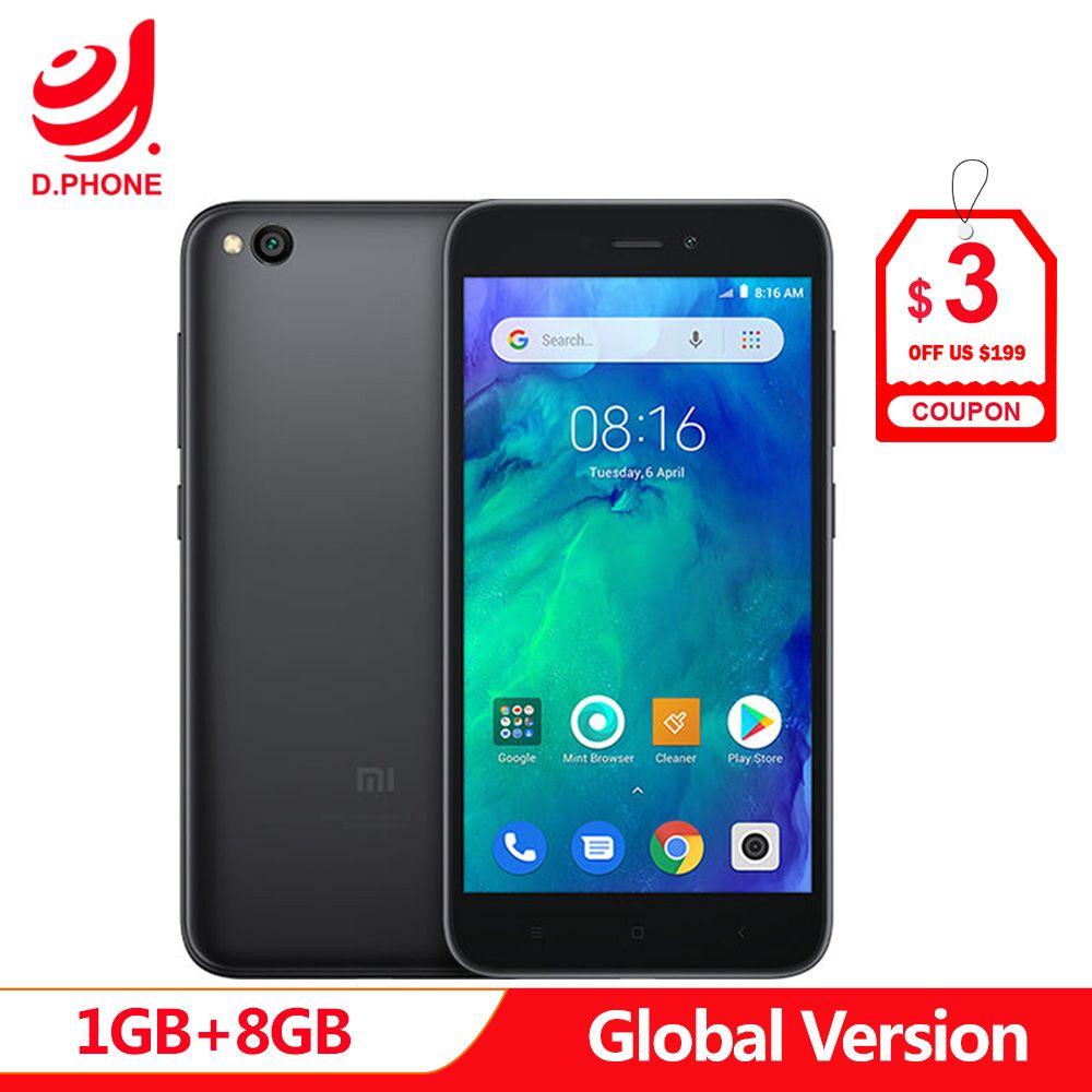 En Stock Version mondiale Xiaomi Redmi GO 1 GB RAM 8 GB ROM Snapdragon 425 Quad Core 5.0 4G LTE 8.0MP caméra 3000 mAh batterie téléphone