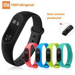 Xiaomi Mi Band 2 Smart Bracelet Sport Fitness tracker Bluetooth Smart Wristband Heart Rate Monitor IP67 Waterproof MiBand 2
