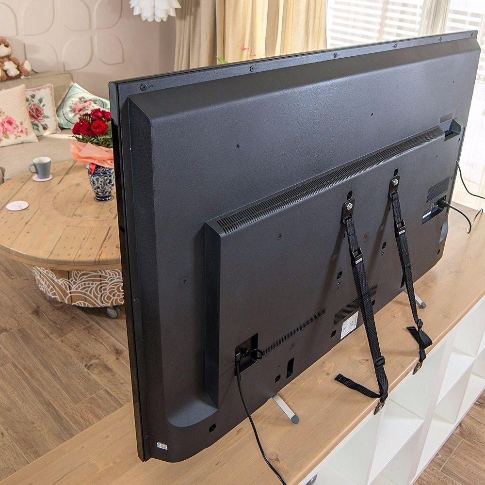 Детская безопасность анти-наконечник Бретели для нижнего белья для плоских ТВ и Мебель стены ремень Блокировка от детей защита от детей, то...