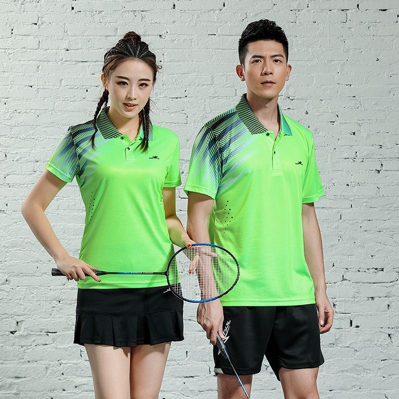 Frauen & Herren Badminton und Tennis Shirts T-Shirts Tischtennis Kleidung Atmungsaktiv Jersey Quick Dry Sport Weiche Tops