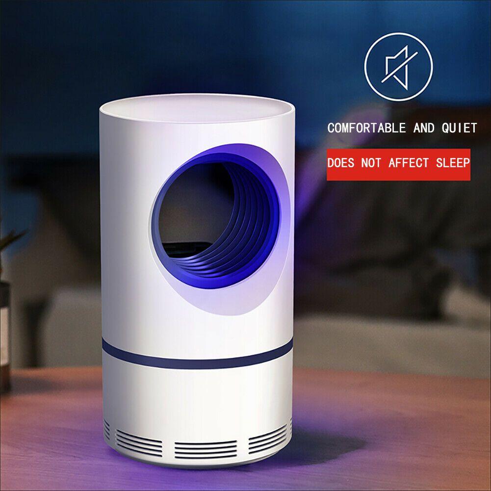 Lampe de tueur de moustique d'usb de lumière ultraviolette à basse tension économiseuse d'énergie sûre Anti lumière photocatalytique efficace de moustique