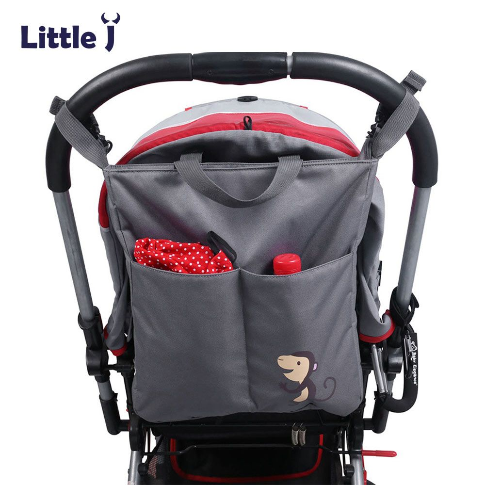 Baby Stroller Organizer Bag Multi Function Mommy Packs Waterproof Carriage Bags for Prams Infant Pushchairs Hanging Handbag