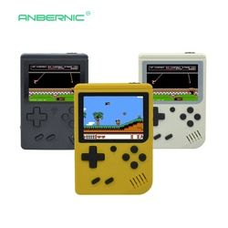 Niños Retro Mini portátil de mano consola de juegos jugadores 3,0 pulgadas negro 8 Bit clásico Video consola RETRO-FC 07